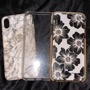 3 iPhone XS Max cases.